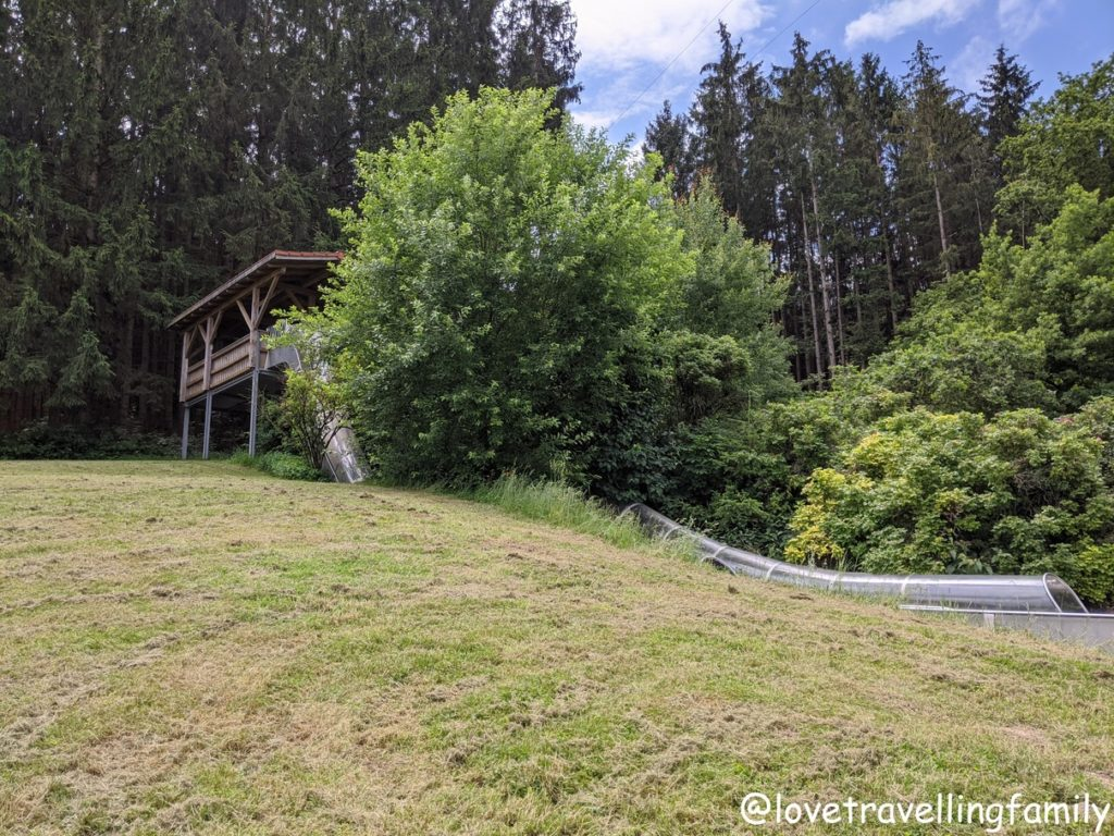 Wildpark Oberreith - Doppelrutsche