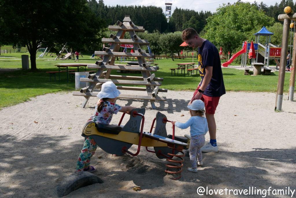 Wildpark Oberreith - Karussel