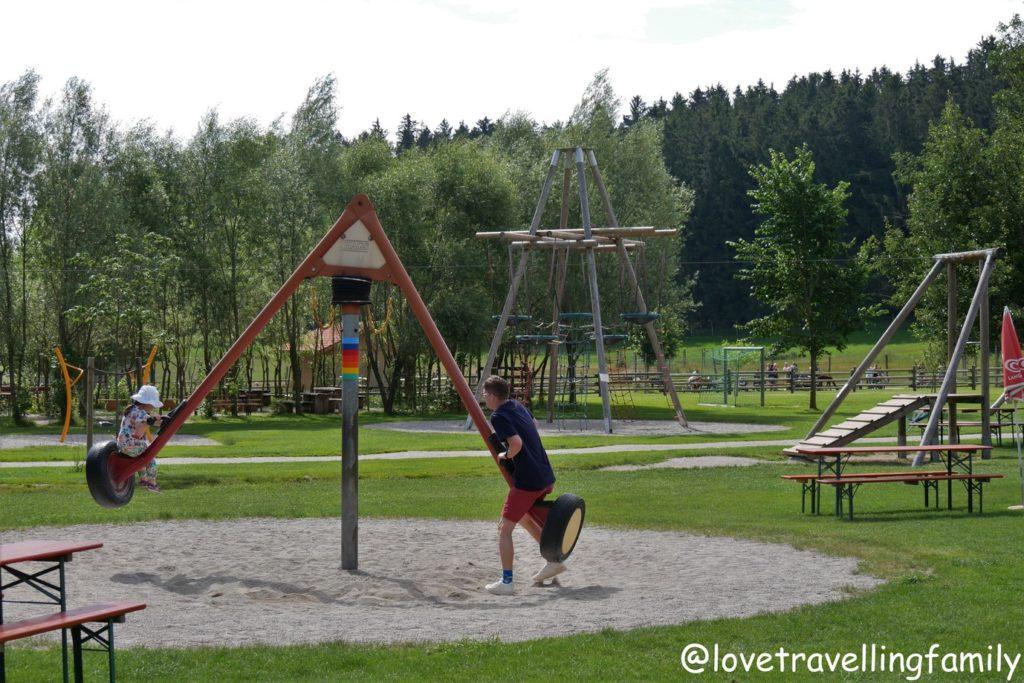 Wildpark Oberreith - Schwing-Dreh-Wipp Gerät