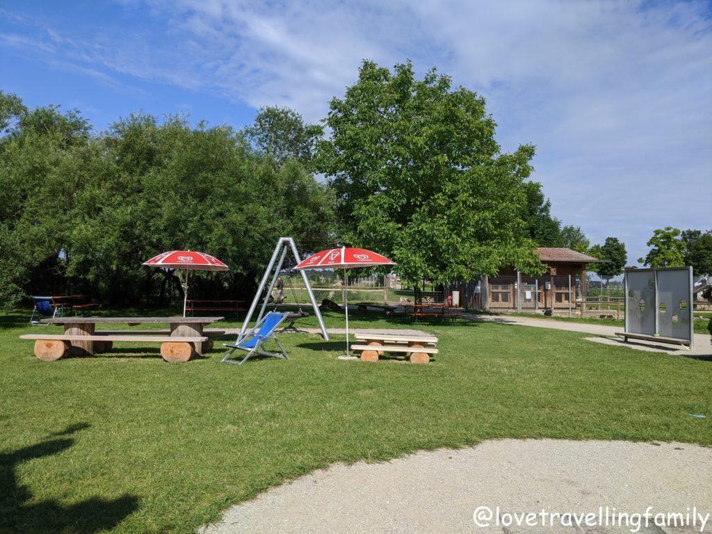Wildpark Oberreith - Sitzmöglichkeiten