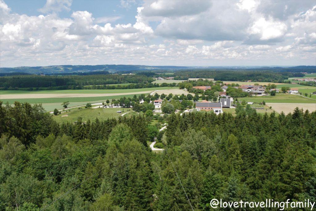 Wildpark Oberreith - Aussichtsturm und Flying Fox