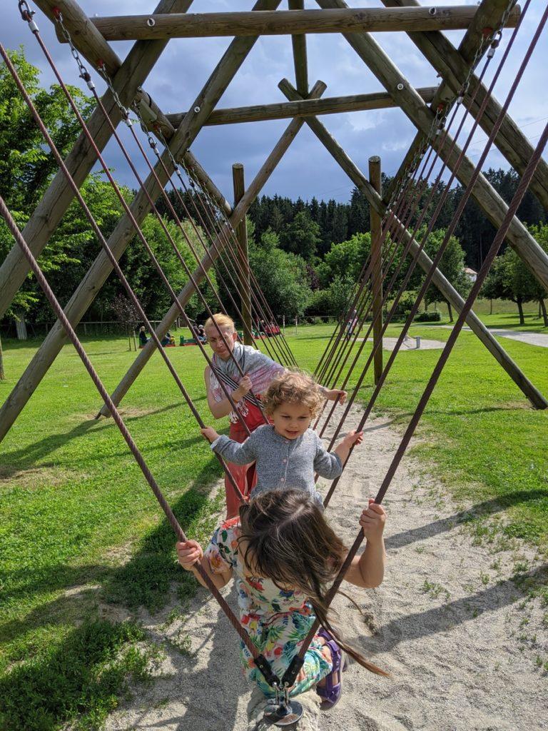 Wildpark Oberreith - Vikingerschaukel
