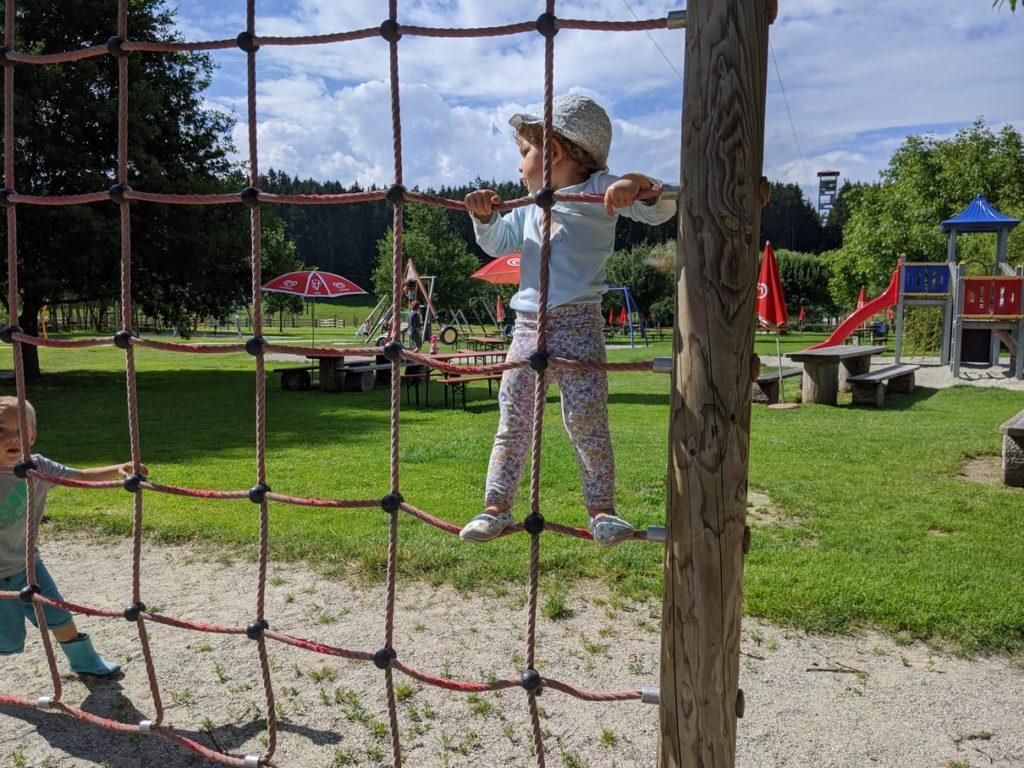Wildpark Oberreith - Kletternetz