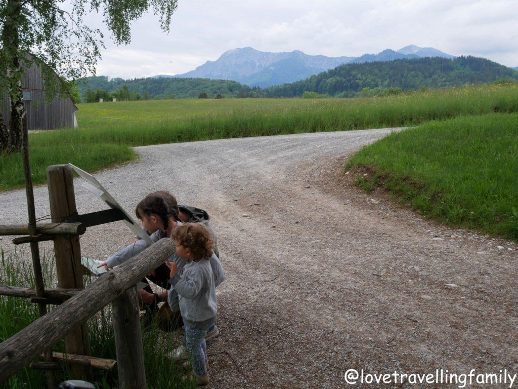 Freilichtmuseum Glentleiten Bayern mit Kind